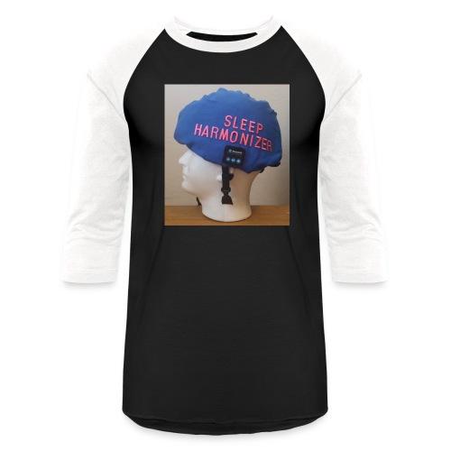 Sleep Harmonizer Helmet Model - Unisex Baseball T-Shirt
