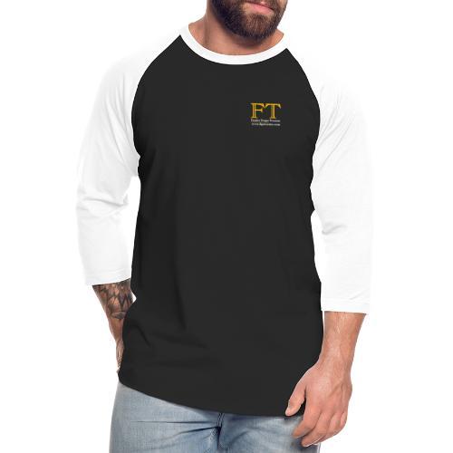FT Logo Clear 300dpi - Unisex Baseball T-Shirt