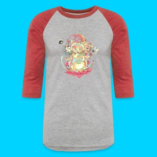 Contraption Brahma Neko - Baseball T-Shirt