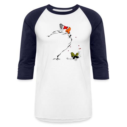 Lady Climber - Unisex Baseball T-Shirt