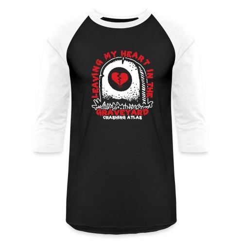Graveyard - Unisex Baseball T-Shirt