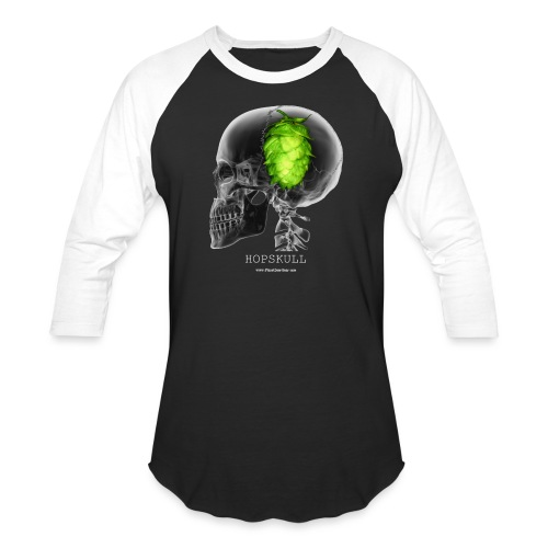 HOPSKULL T-Shirt (Double Sided) - Baseball T-Shirt