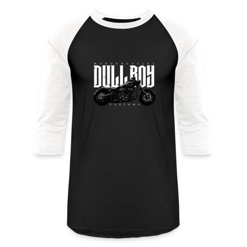 Dull Boy Customs bike white - Baseball T-Shirt