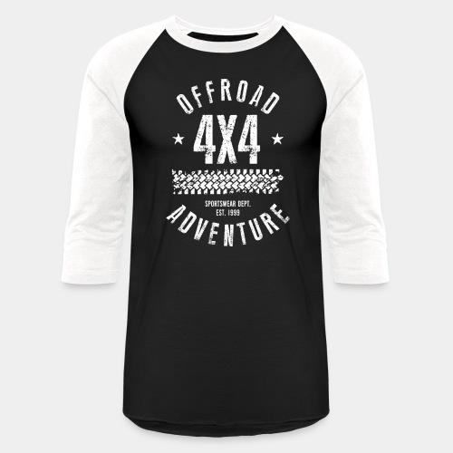 offroad avdenture truck - Baseball T-Shirt