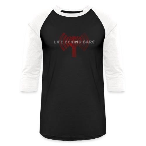 LBBPC Strainer Logo Red - Unisex Baseball T-Shirt