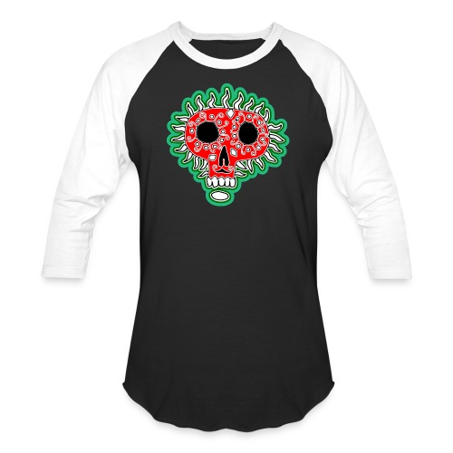 Happy Día de Muertos - Unisex Baseball T-Shirt