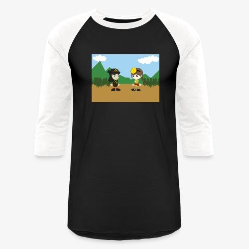 Digital Pontians - Baseball T-Shirt