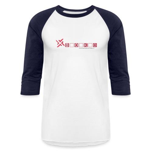 negativity blocked final file png - Baseball T-Shirt