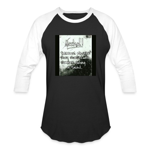 Alcohol - Baseball T-Shirt