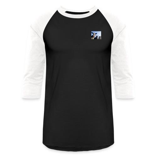 3HolsteinCows - Unisex Baseball T-Shirt
