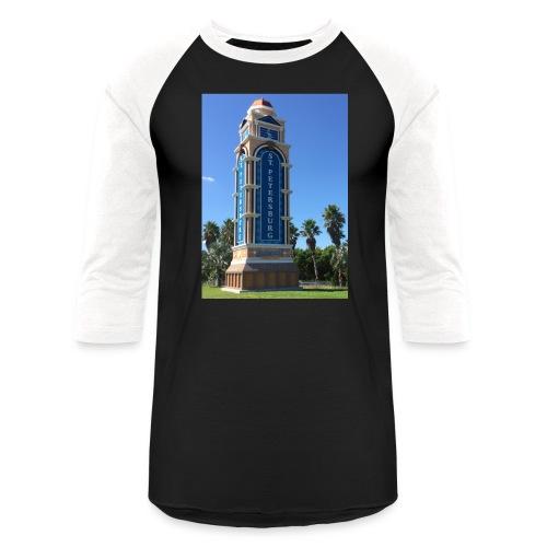 Welcome to St. Petersburg tee - Unisex Baseball T-Shirt