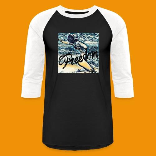 Freedom - Unisex Baseball T-Shirt