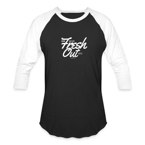 Fresh Out Beats Logo 24 - Baseball T-Shirt
