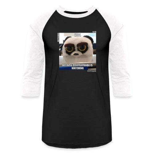 Crypto Panda Is Watching (Crypto Series) - Baseball T-Shirt