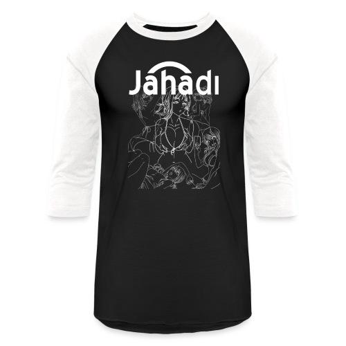 HADIBITCHESWHITE - Baseball T-Shirt