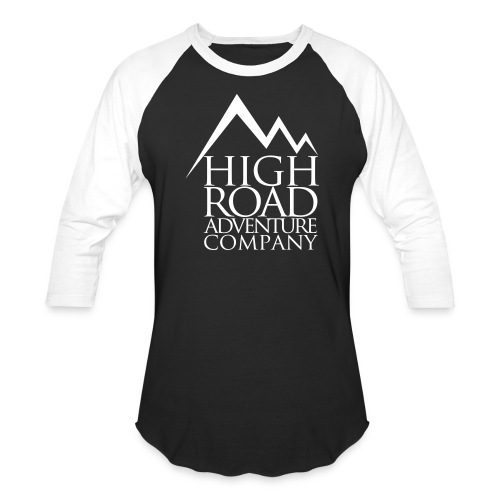 High Road Adventure Company Logo - Baseball T-Shirt