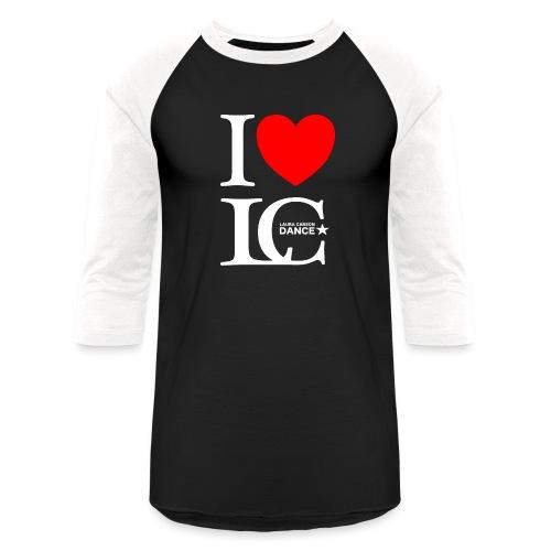 I Heart LCDance - Baseball T-Shirt