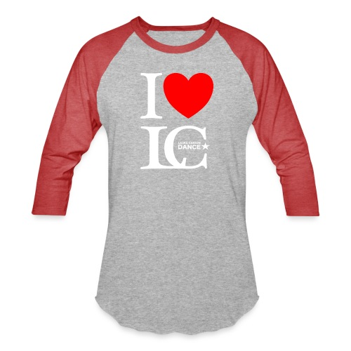 I Heart LCDance - Baseball T-Shirt