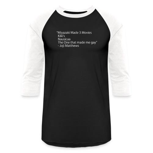 Miyazaki Movies - Unisex Baseball T-Shirt