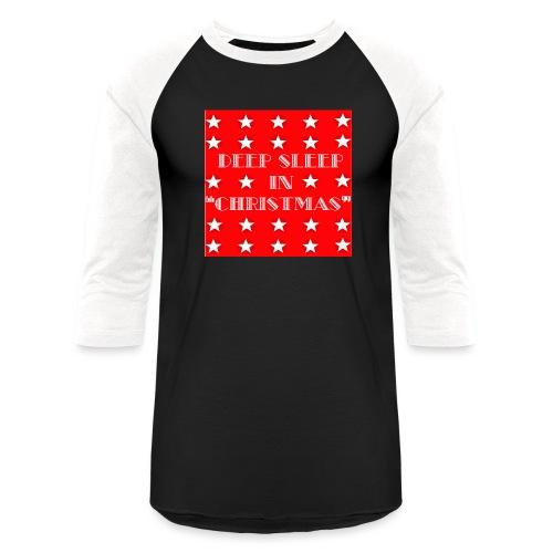 Christmas theme - Unisex Baseball T-Shirt
