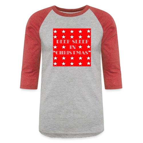 Christmas theme - Baseball T-Shirt