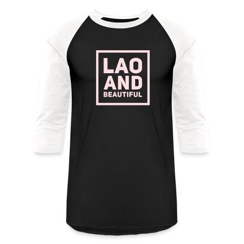 LAO AND BEAUTIFUL pink - Baseball T-Shirt