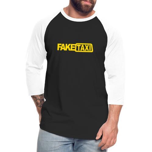 FAKE TAXI Duffle Bag - Unisex Baseball T-Shirt