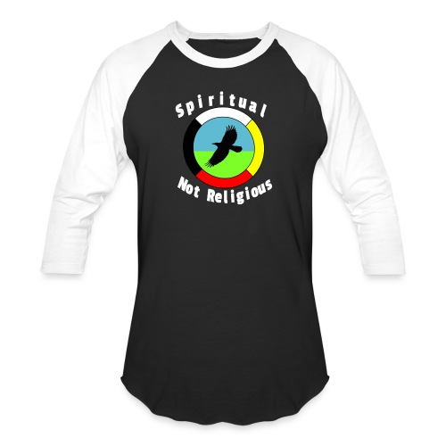 Spiritualnotreligious - Unisex Baseball T-Shirt