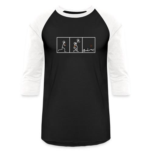 BUTTFUMBLE 6 (With Cartoon) - Baseball T-Shirt