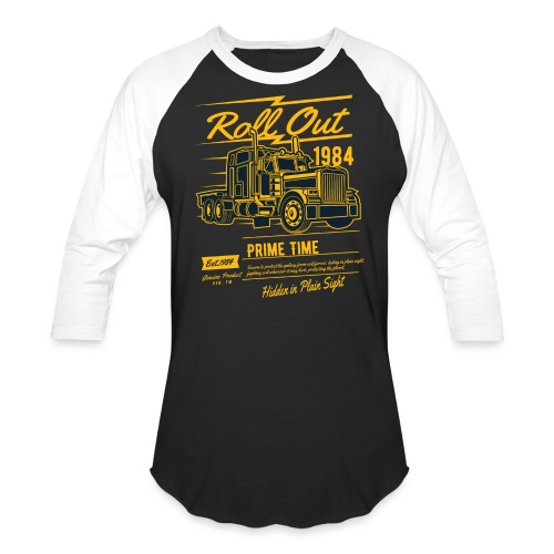 Prime Time - Roll Out - Unisex Baseball T-Shirt
