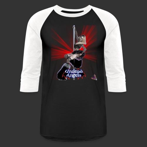 Undead Angels: Undead Dancer Onyx Spotlight - Unisex Baseball T-Shirt
