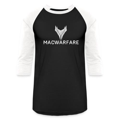 MacWarfare Channel Logo - Unisex Baseball T-Shirt
