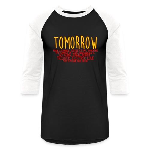 Tomorrow Album Design - Baseball T-Shirt