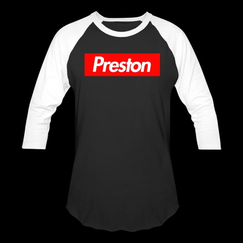 RealPrestonGamez Supreme Box - Baseball T-Shirt