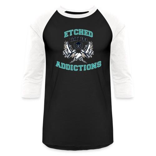 looclearbglarger - Unisex Baseball T-Shirt