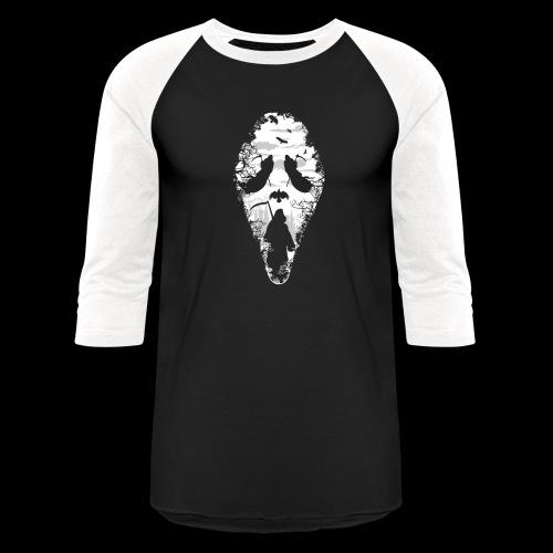 Reaper Screams   Scary Halloween - Baseball T-Shirt