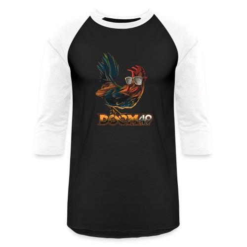 DooM49 Chicken - Unisex Baseball T-Shirt