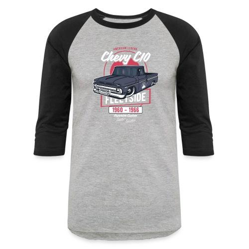 Chevy C10 - American Legend - Unisex Baseball T-Shirt