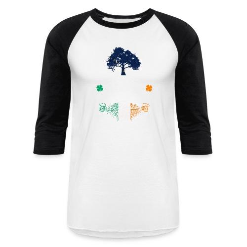 ALASKAN WITH IRISH ROOTS - Baseball T-Shirt