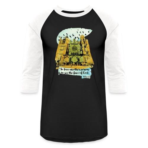 El camino - Unisex Baseball T-Shirt