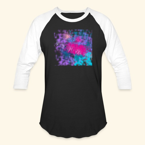 Abstract - Unisex Baseball T-Shirt