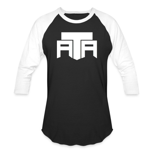ATA LOGO FINAL png - Unisex Baseball T-Shirt