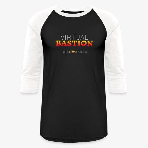 Virtual Bastion: For the Love of Gaming - Unisex Baseball T-Shirt