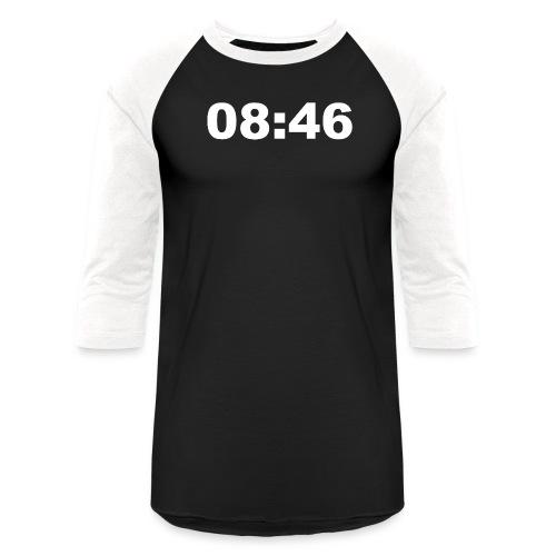 08:46 I Can't Breathe - Unisex Baseball T-Shirt