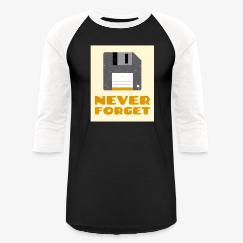 Never Forget - Baseball T-Shirt