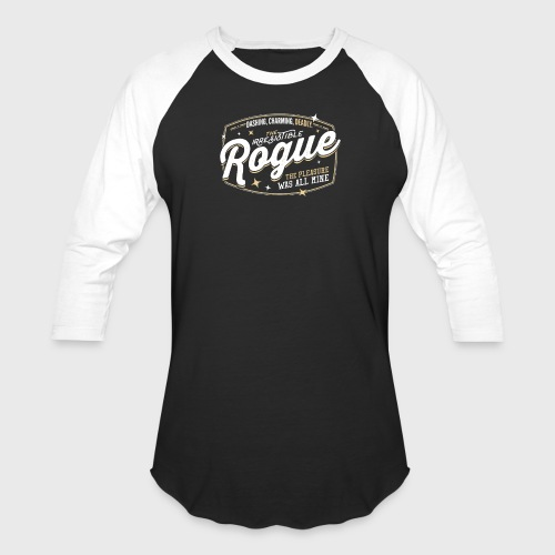 Rogue Class Fantasy RPG Gaming - Unisex Baseball T-Shirt