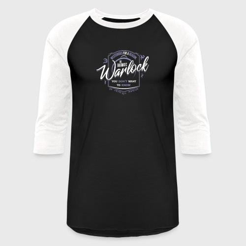 Warlock Class Fantasy RPG Gaming - Unisex Baseball T-Shirt