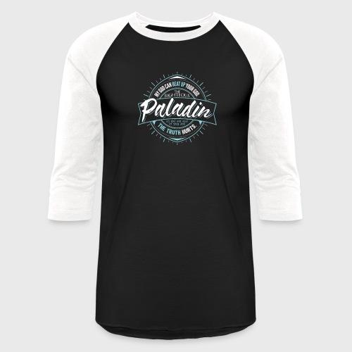 Paladin Class Fantasy RPG Gaming - Unisex Baseball T-Shirt