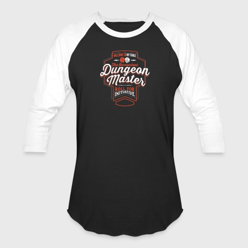 Dungeon Master Class Fantasy RPG Gaming - Unisex Baseball T-Shirt