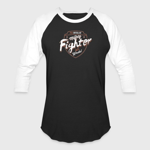 Fighter Class Fantasy RPG Gaming - Unisex Baseball T-Shirt